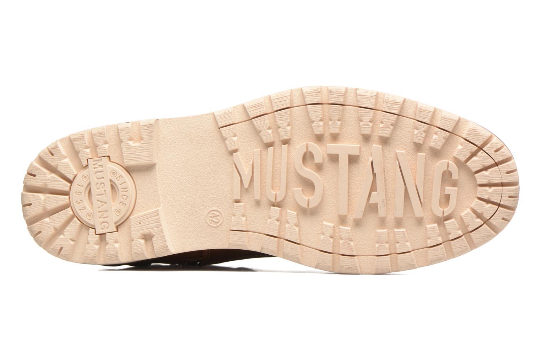 Bottines et boots Mustang shoes Muska Marron vue haut