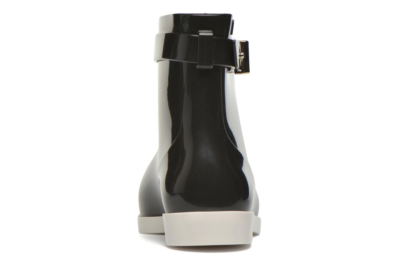 Ankle boots Melissa Melissa Françoise Black view from the right
