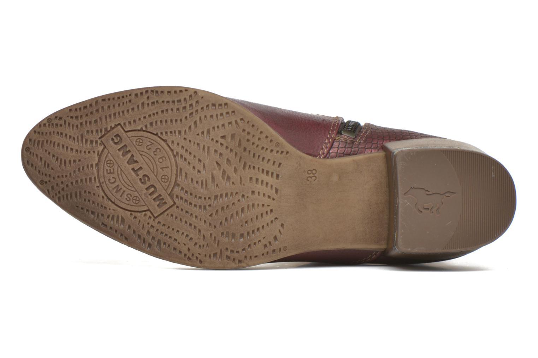 Boots en enkellaarsjes Mustang shoes Mustea Bordeaux boven