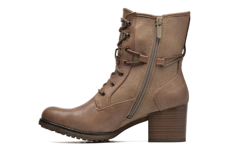 Bottines et boots Mustang shoes Muasta Marron vue face