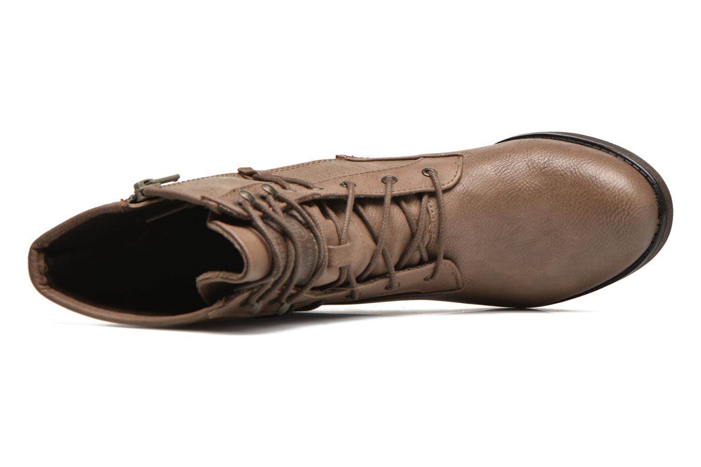 Bottines et boots Mustang shoes Muasta Marron vue gauche