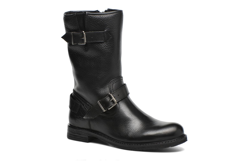 Støvler & gummistøvler Mustang shoes Brea 2 Sort detaljeret billede af skoene