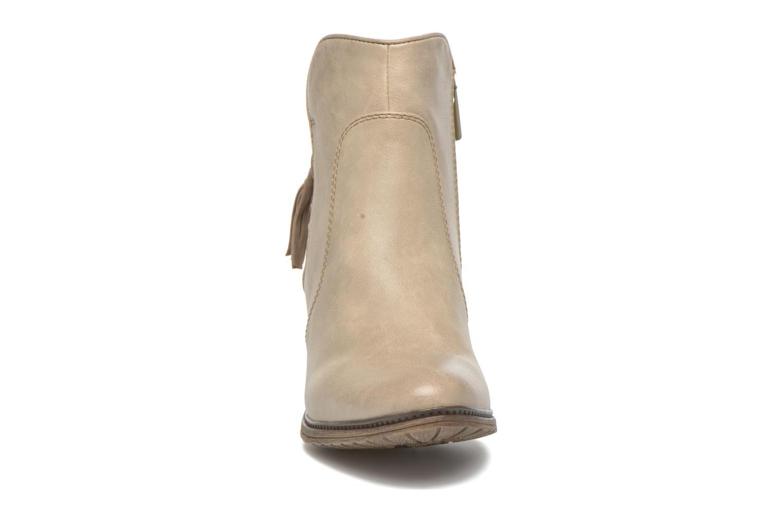 Bottines et boots Mustang shoes Muphit Beige vue portées chaussures