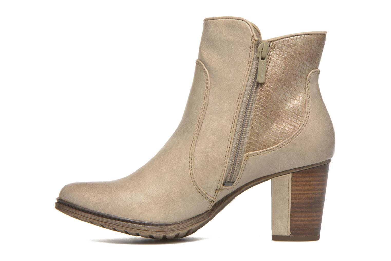 Bottines et boots Mustang shoes Muphit Beige vue face
