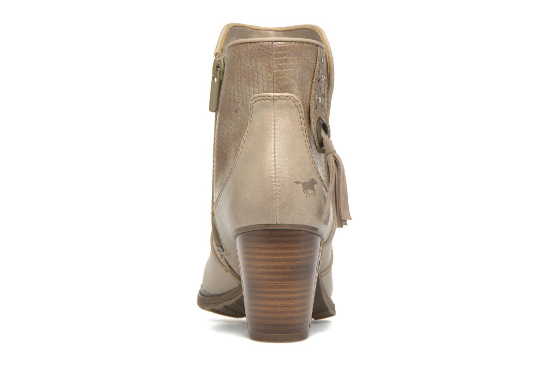 Bottines et boots Mustang shoes Muphit Beige vue droite