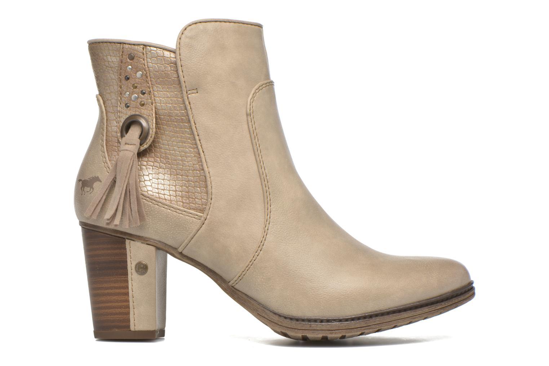 Bottines et boots Mustang shoes Muphit Beige vue derrière