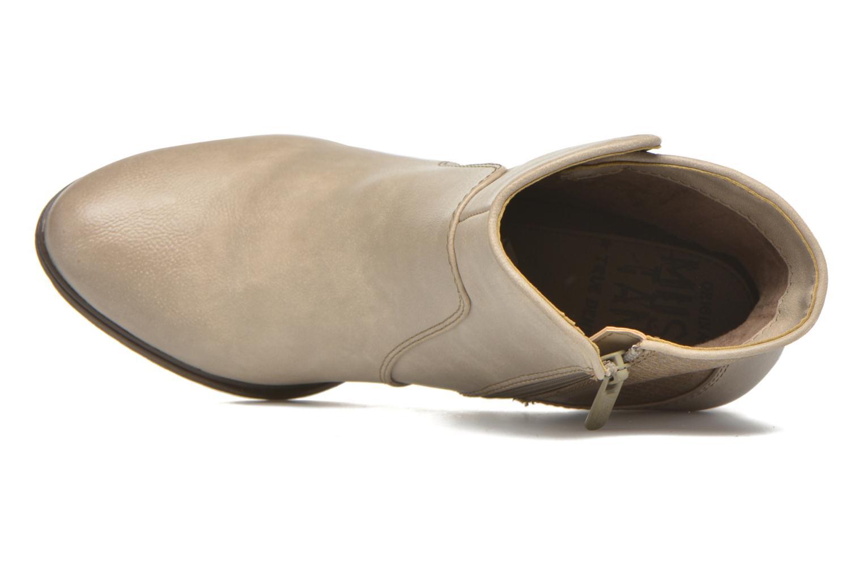 Bottines et boots Mustang shoes Muphit Beige vue gauche