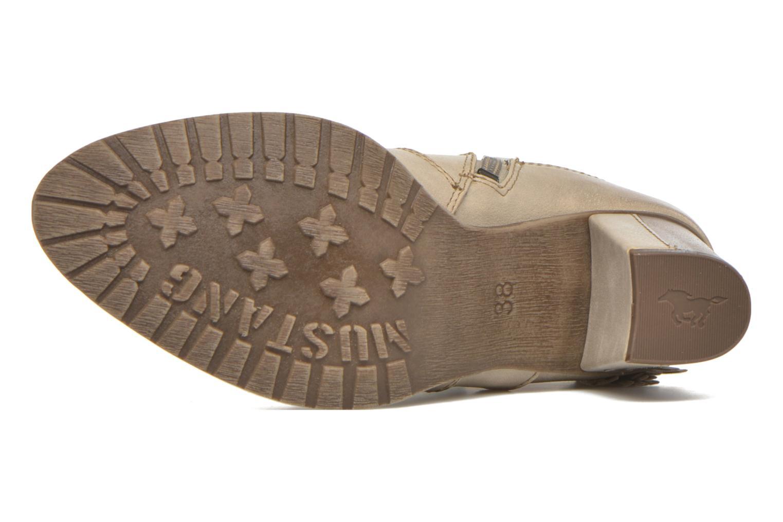 Stiefeletten & Boots Mustang shoes Muphit beige ansicht von oben