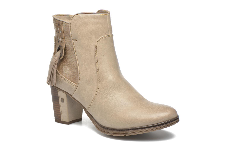Bottines et boots Mustang shoes Muphit Beige vue détail/paire