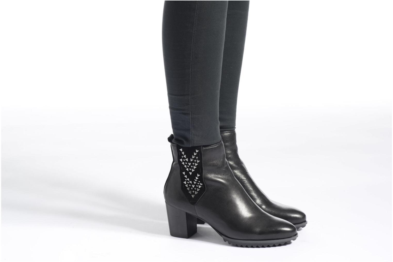 Stiefeletten & Boots Softwaves Alpi 21 schwarz ansicht von unten / tasche getragen