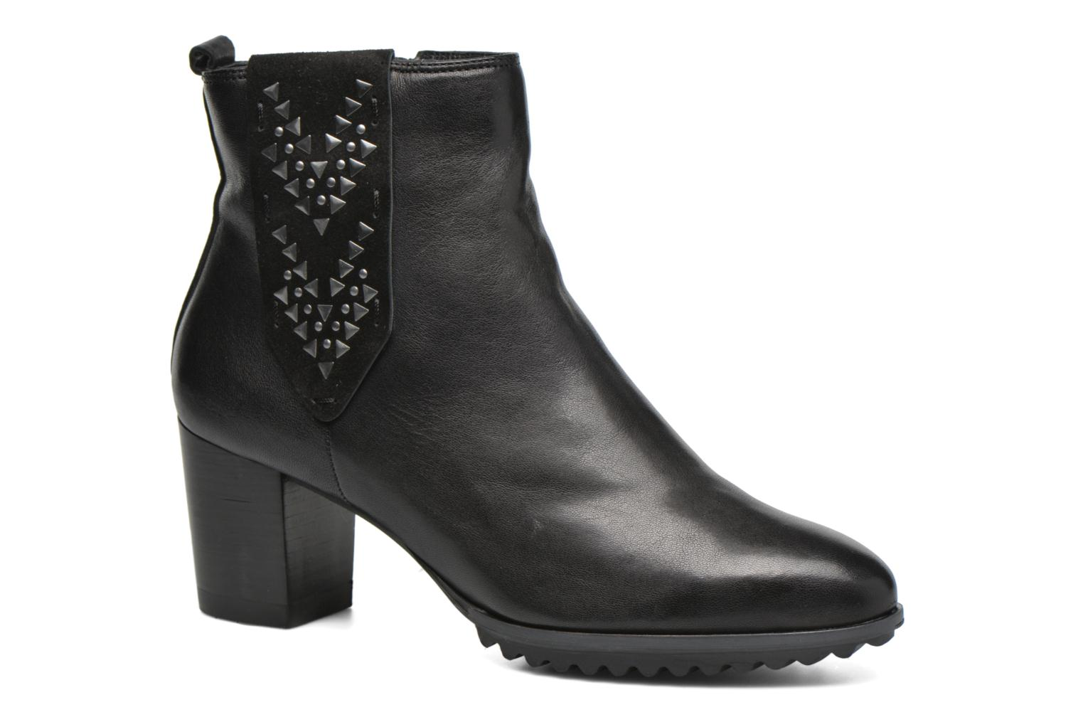 Ankle boots Softwaves Alpi 21 Black detailed view/ Pair view