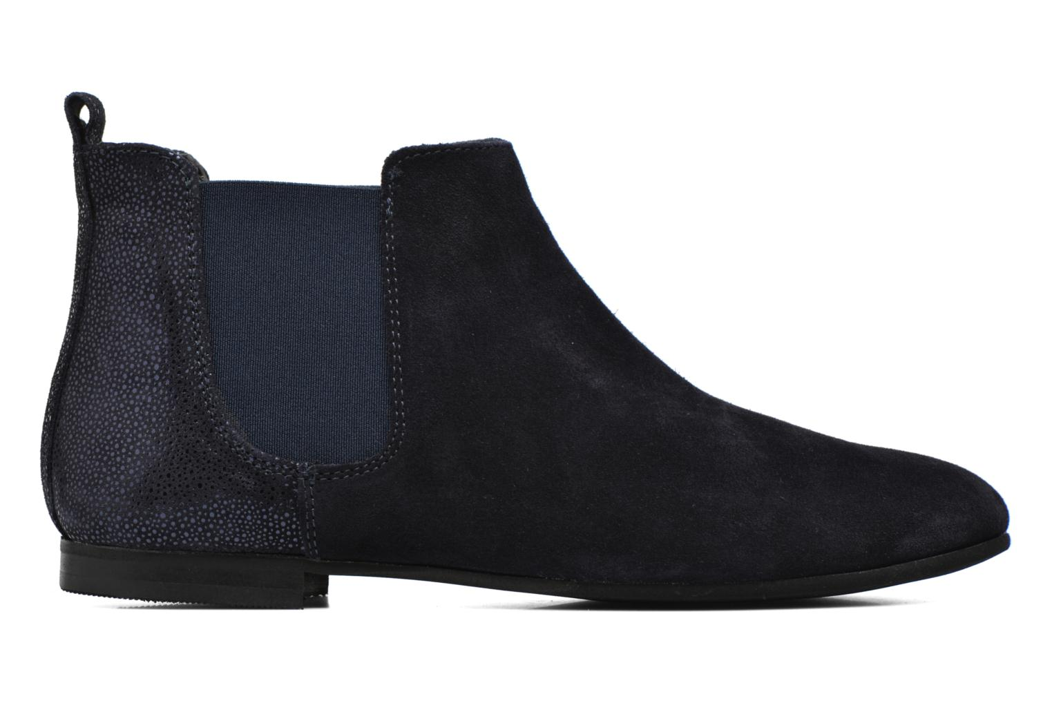 Ankle boots André Carrousel Blue back view