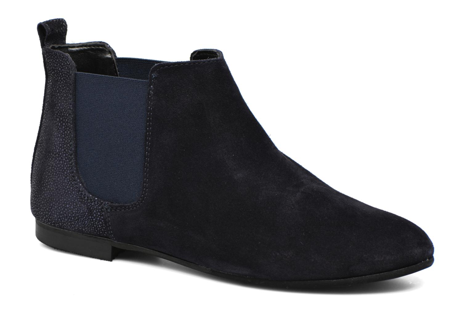 Ankle boots André Carrousel Blue detailed view/ Pair view
