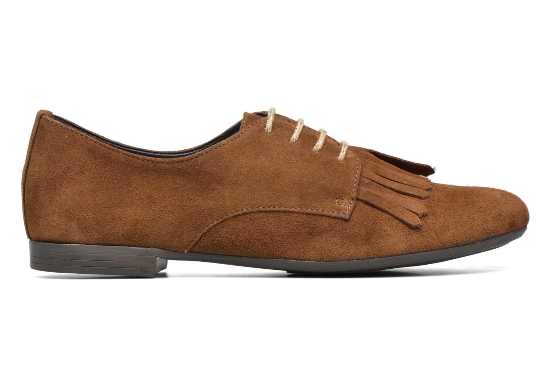Snörade skor André Cheyenne Brun bild från baksidan