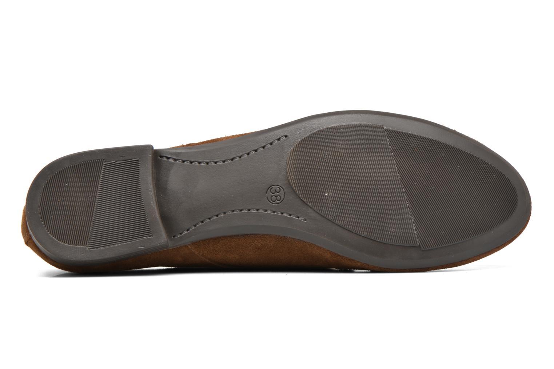 Snörade skor André Cheyenne Brun bild från ovan