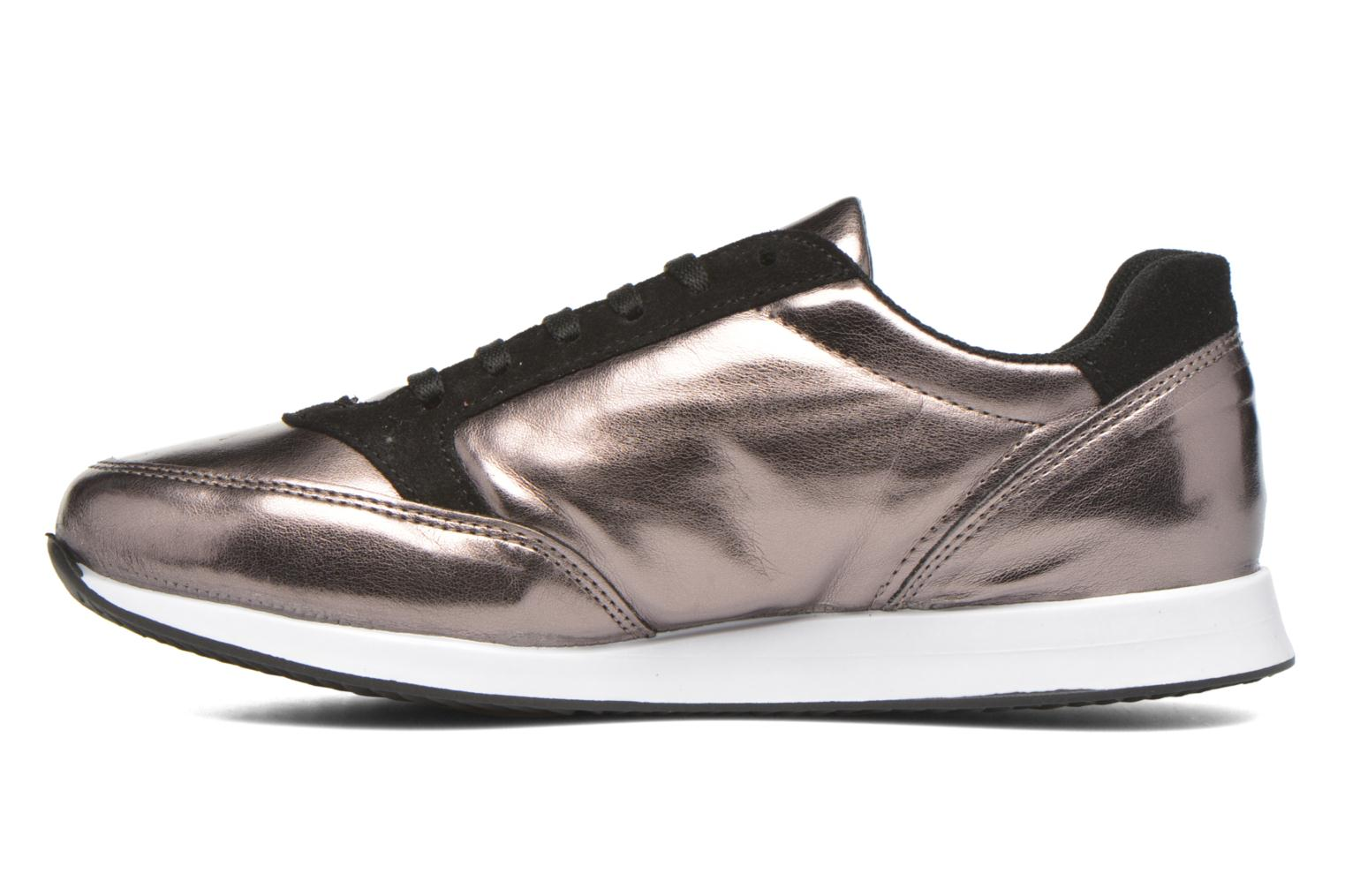 Trainers André Maximum Bronze and Gold front view