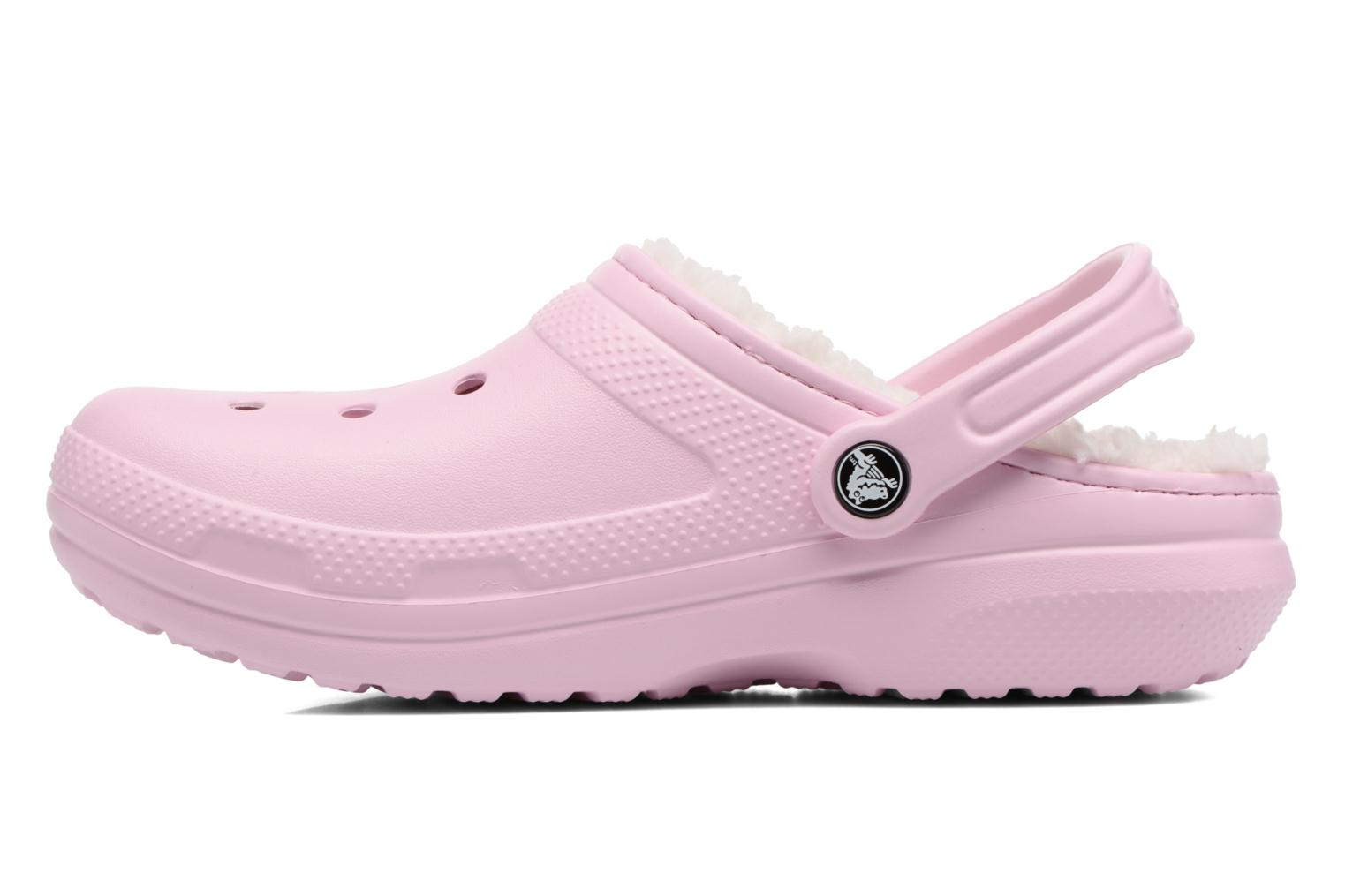 Classic Lined clog W Ballerina Pink/Oatmeal