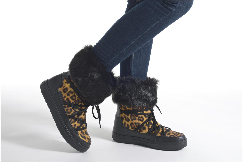 Bottines et boots Crocs Lodgepoint Lace Boot W Noir vue bas / vue portée sac