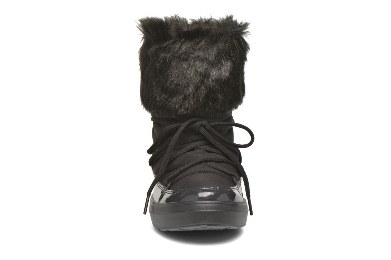 Bottines et boots Crocs Lodgepoint Lace Boot W Noir vue portées chaussures