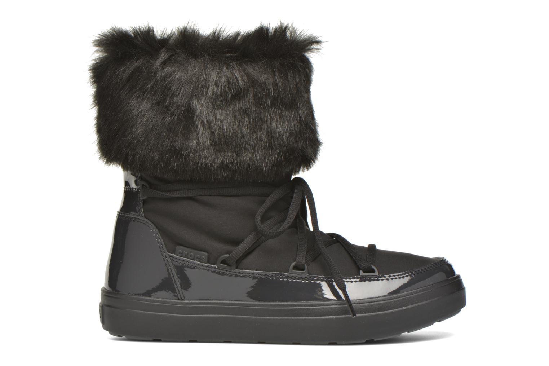 Bottines et boots Crocs Lodgepoint Lace Boot W Noir vue derrière