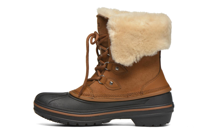 Ankelstøvler Crocs AllCast II Luxe Boot W Brun se forfra