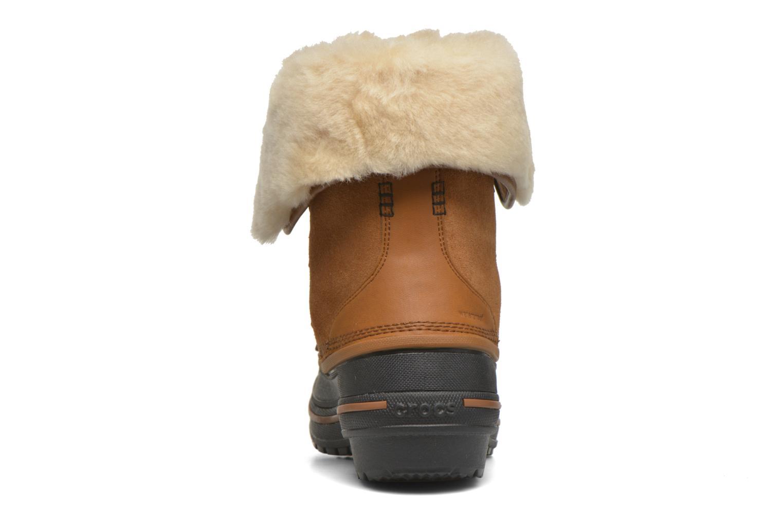 Bottines et boots Crocs AllCast II Luxe Boot W Marron vue droite