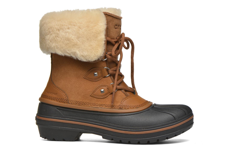 Bottines et boots Crocs AllCast II Luxe Boot W Marron vue derrière
