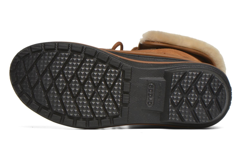 Bottines et boots Crocs AllCast II Luxe Boot W Marron vue haut