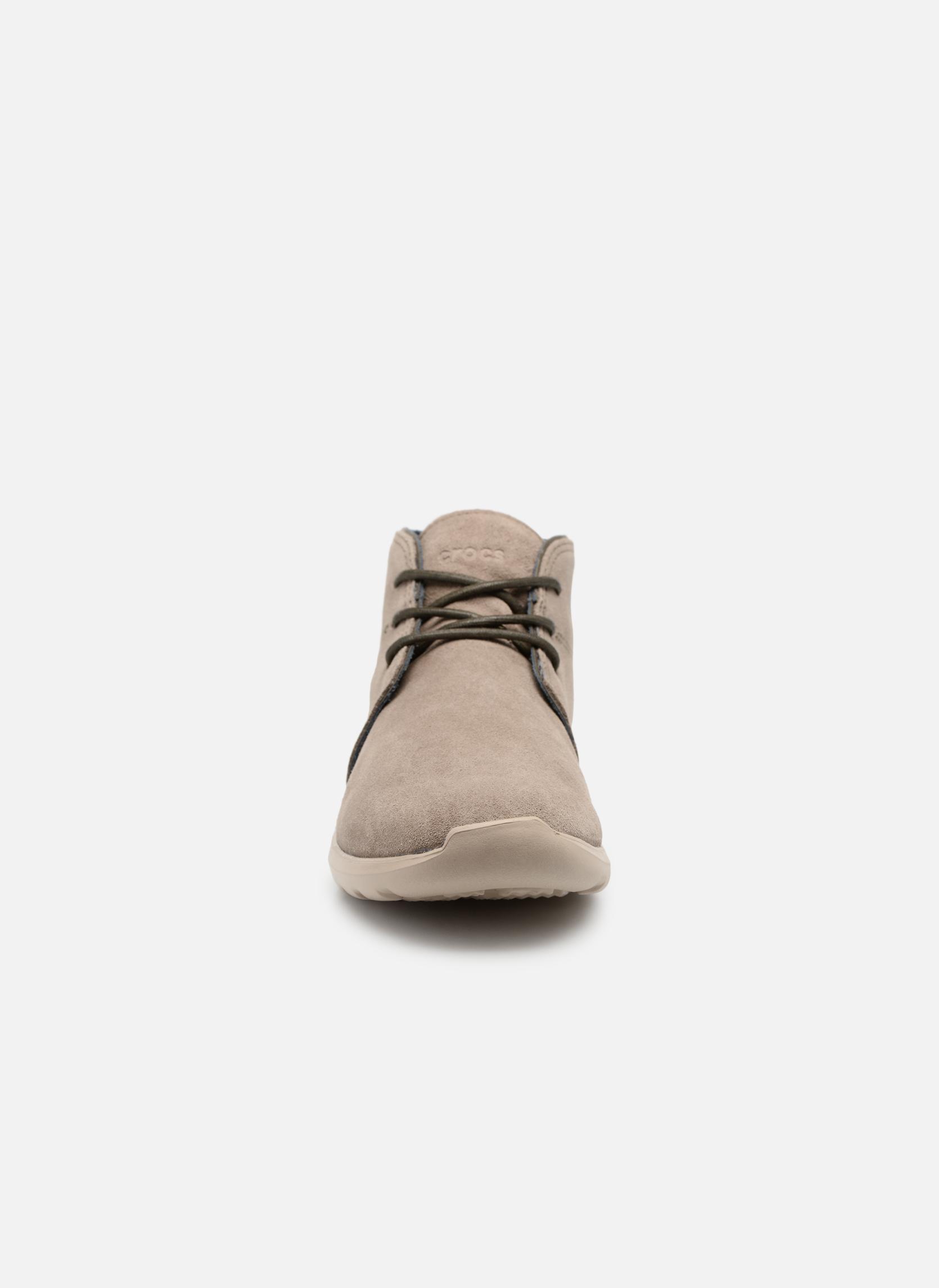 Chaussures à lacets Crocs Crocs Kinsale Chukka M Vert vue portées chaussures