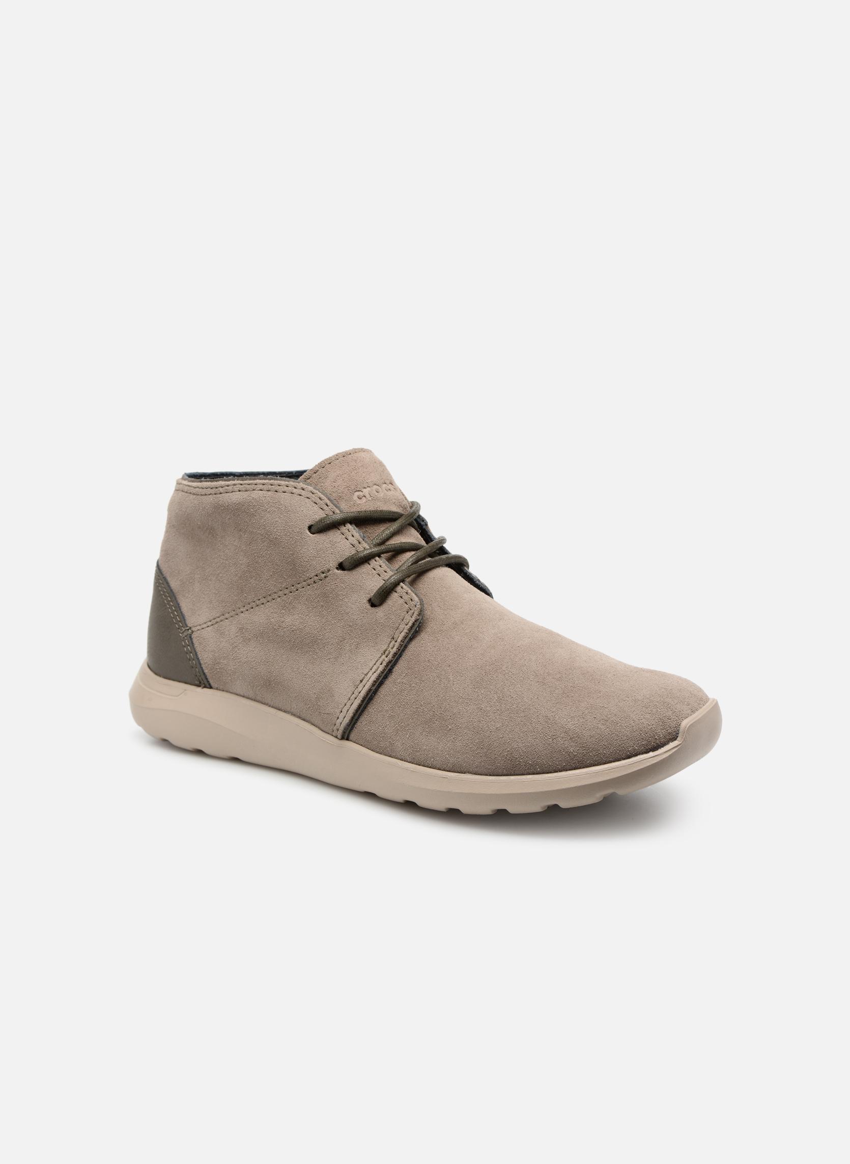 Chaussures à lacets Crocs Crocs Kinsale Chukka M Vert vue détail/paire