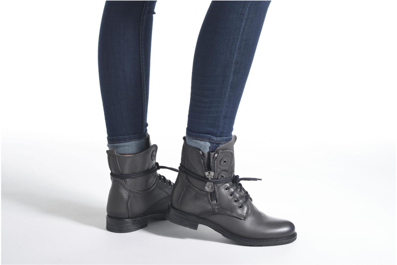 Bottines et boots Coco et abricot Shadow Gris vue bas / vue portée sac