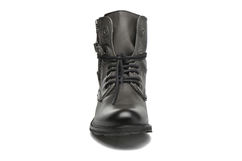 Bottines et boots Coco et abricot Shadow Gris vue portées chaussures