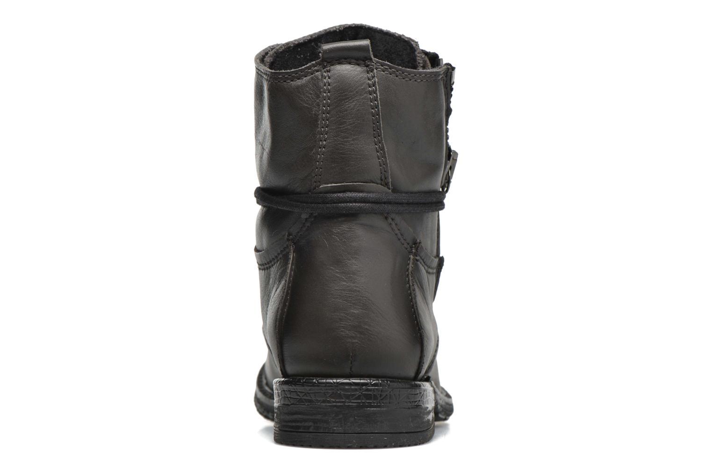 Bottines et boots Coco et abricot Shadow Gris vue droite