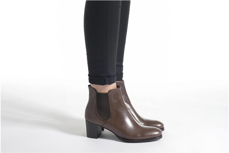 Bottines et boots Muratti Link Marron vue bas / vue portée sac