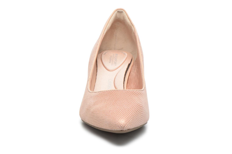 Escarpins Rockport Kalila Pump Rose vue portées chaussures