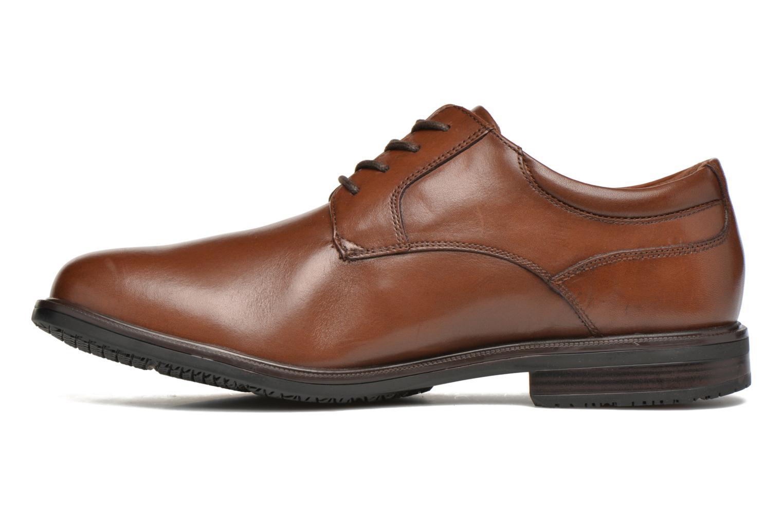 Zapatos con cordones Rockport Esntial Dtl II Plain Toe Marrón vista de frente
