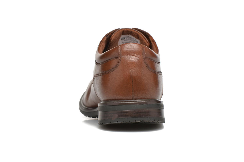 Zapatos con cordones Rockport Esntial Dtl II Plain Toe Marrón vista lateral derecha