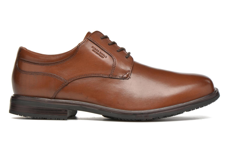 Zapatos con cordones Rockport Esntial Dtl II Plain Toe Marrón vistra trasera
