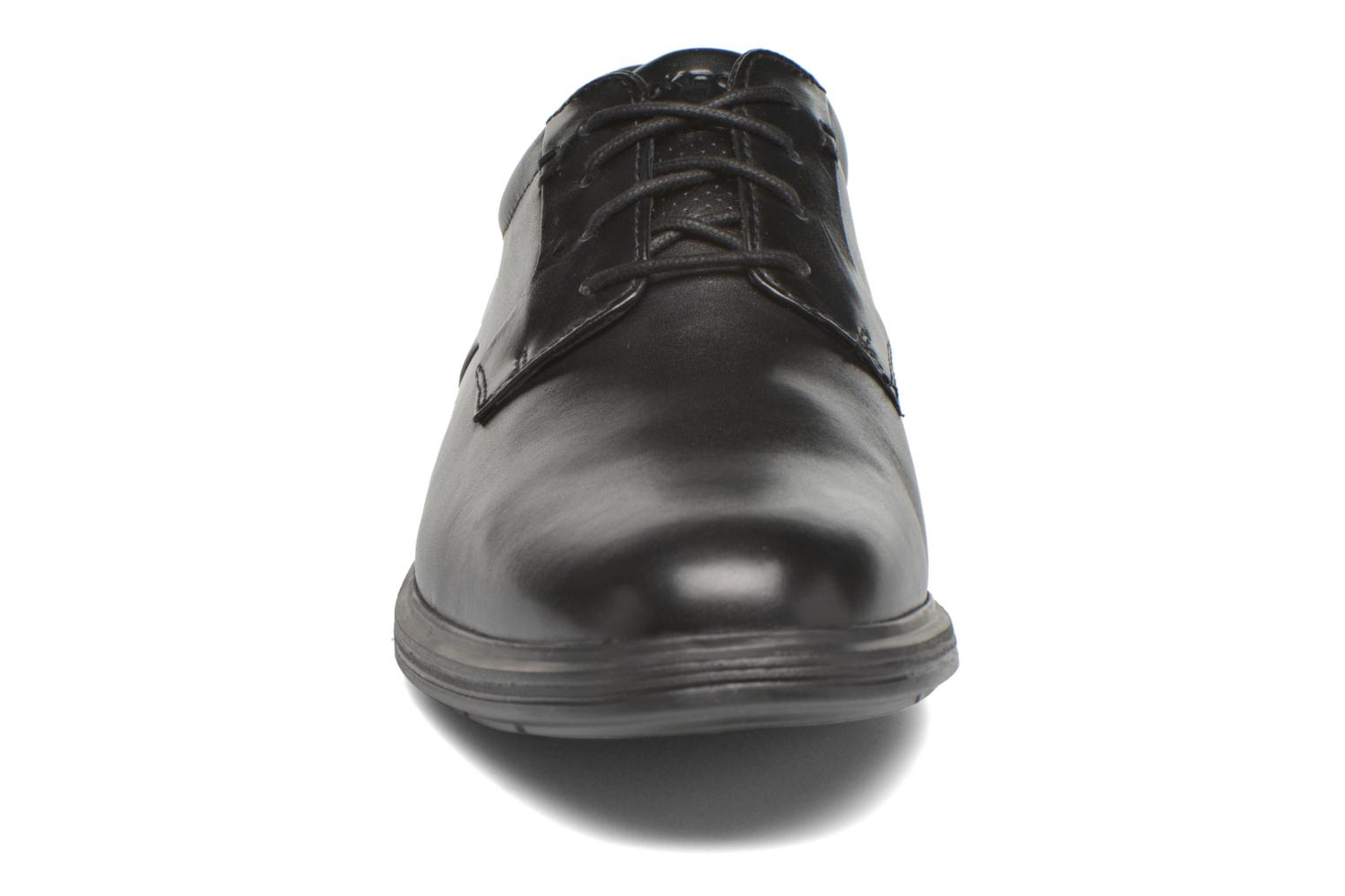 Zapatos con cordones Rockport DP2 Light Plaintoe Ox Negro vista del modelo