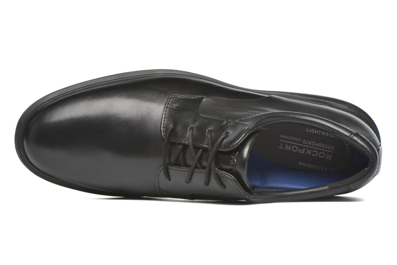 Schnürschuhe Rockport DP2 Light Plaintoe Ox schwarz ansicht von links