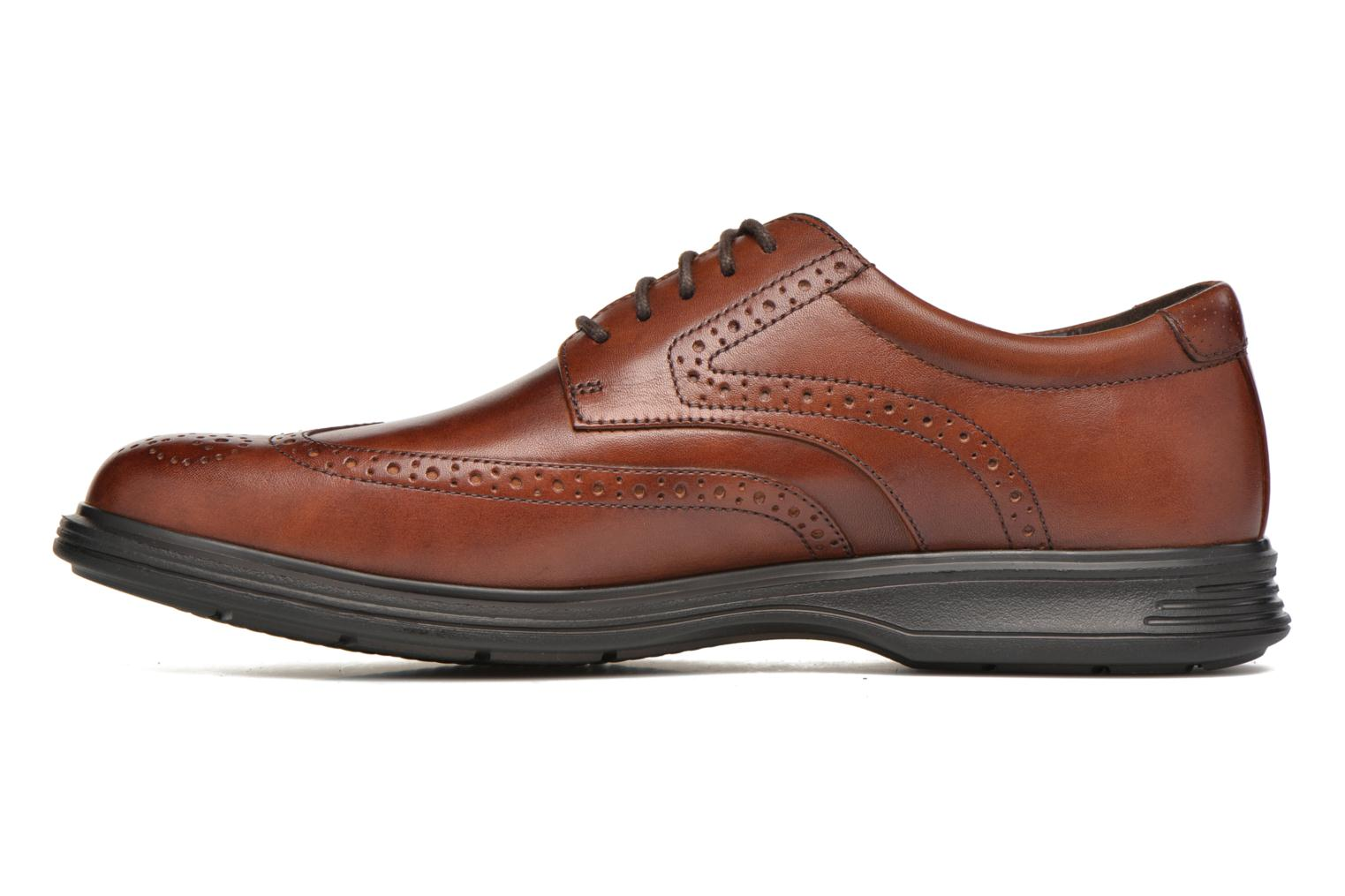 Lace-up shoes Rockport DP2 Light Wing Tip Brown front view