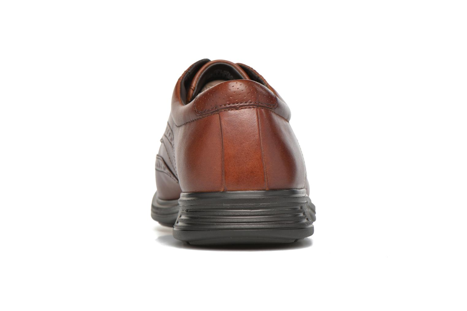 Lace-up shoes Rockport DP2 Light Wing Tip Brown view from the right