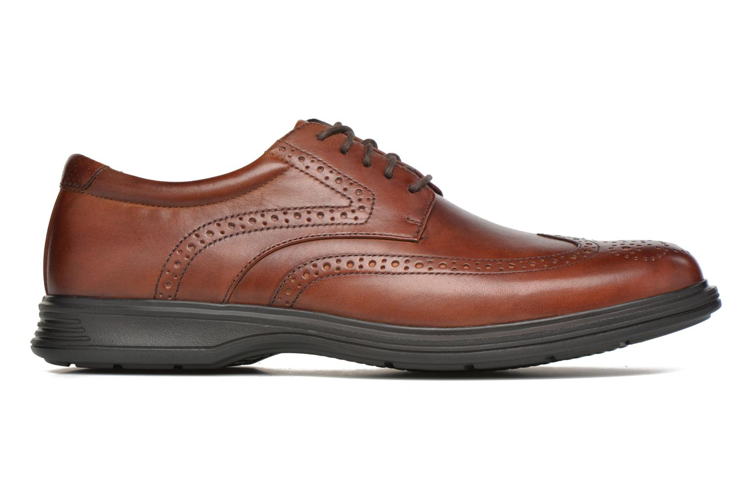 Lace-up shoes Rockport DP2 Light Wing Tip Brown back view
