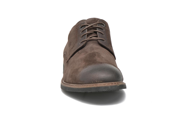 Chaussures à lacets Rockport Classic Break Plain Toe Marron vue portées chaussures