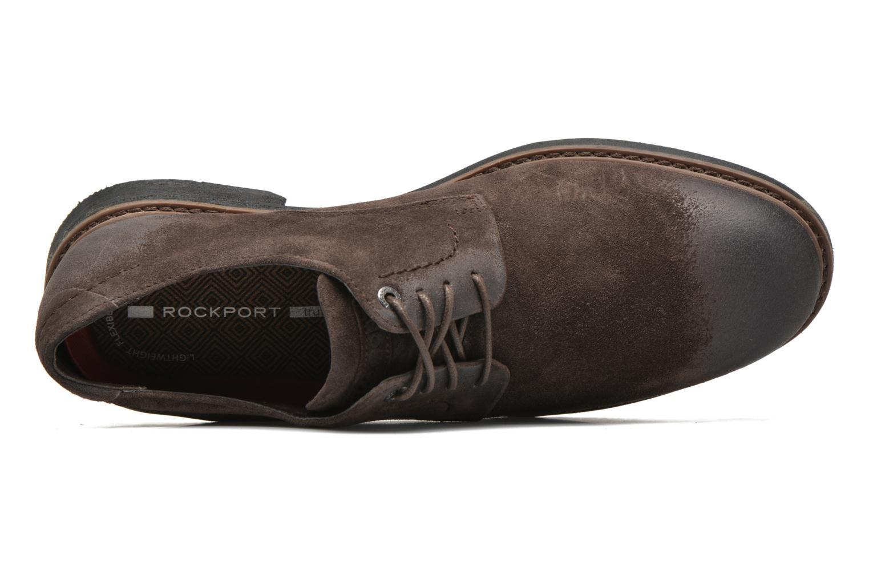 Chaussures à lacets Rockport Classic Break Plain Toe Marron vue gauche