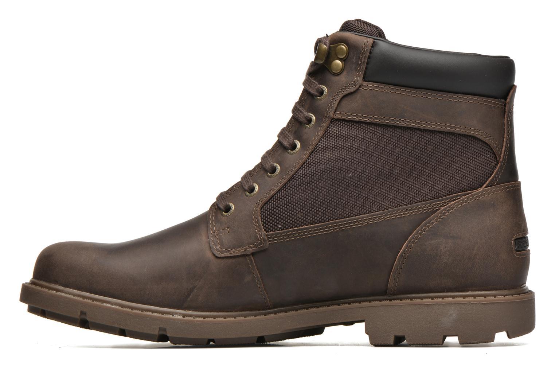 Bottines et boots Rockport Rgd Buc Wp High Boot Marron vue face