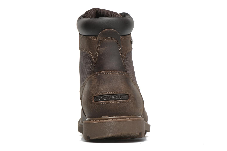 Bottines et boots Rockport Rgd Buc Wp High Boot Marron vue droite