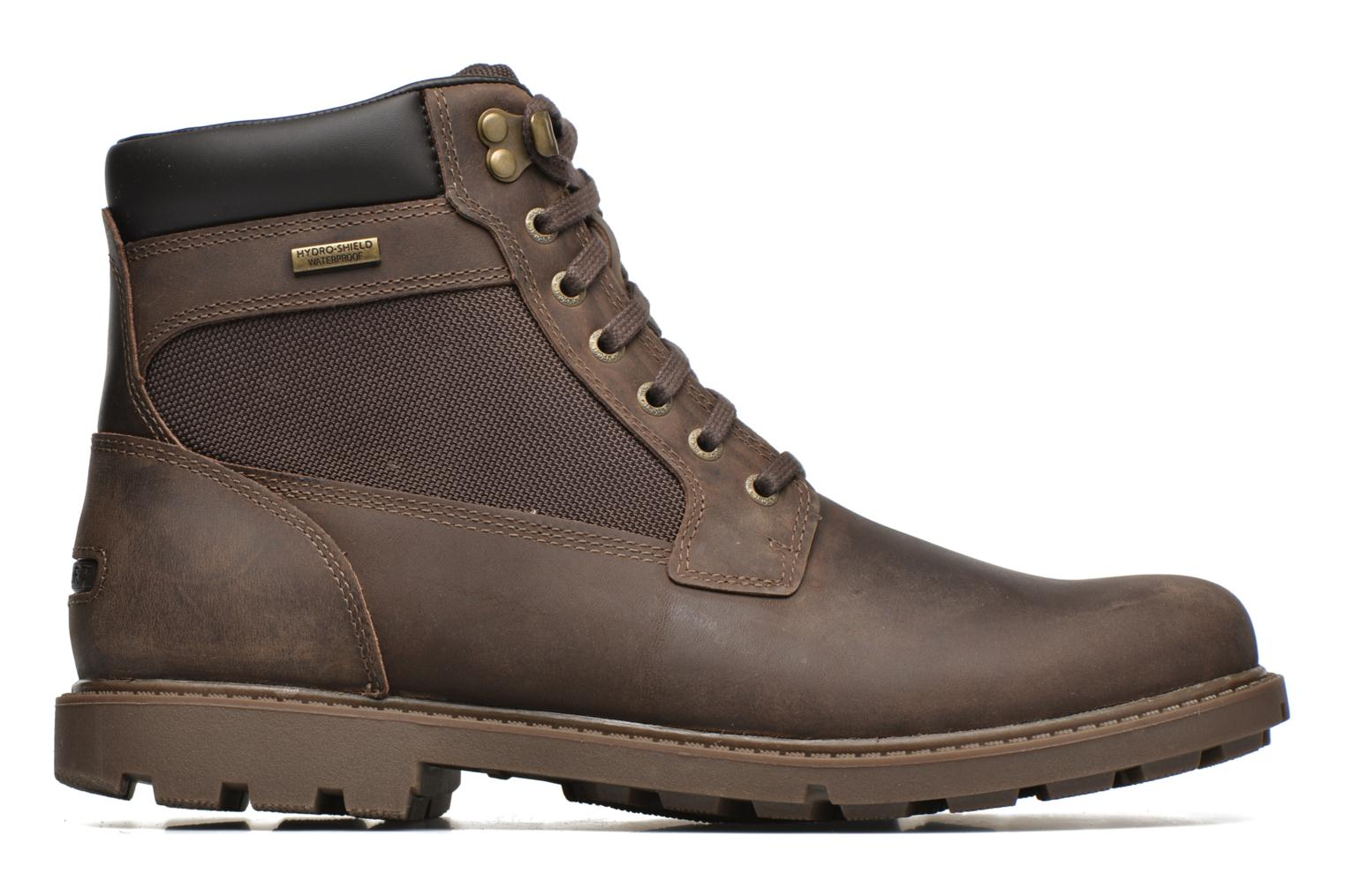 Rgd Buc Wp High Boot Dark Brown