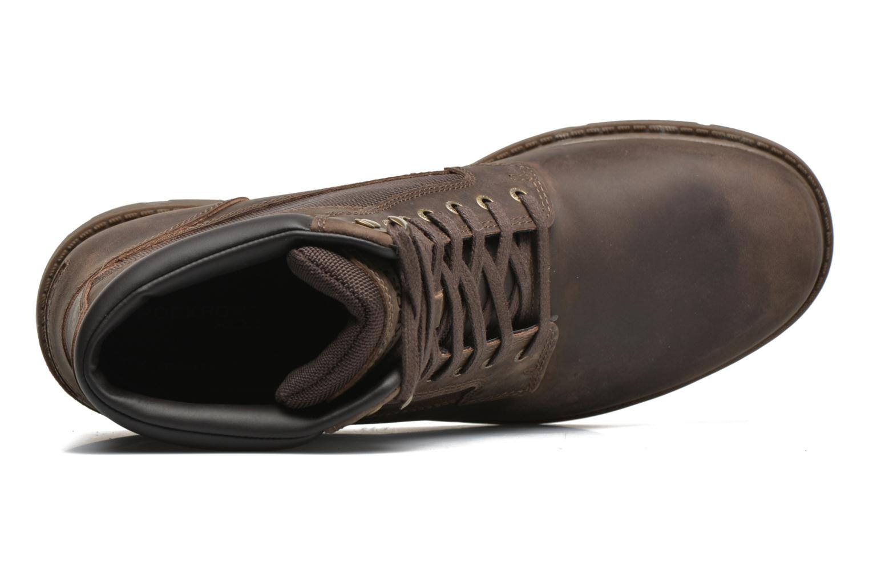 Stiefeletten & Boots Rockport Rgd Buc Wp High Boot braun ansicht von links