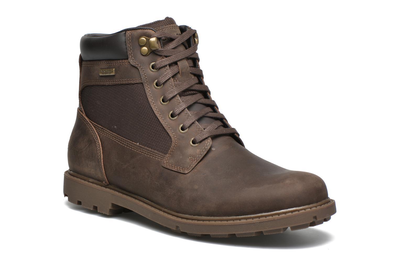 Bottines et boots Rockport Rgd Buc Wp High Boot Marron vue détail/paire
